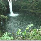 Waterfalls Picture Dining Tile Mural Wall Room Renovate Modern