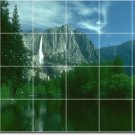 Waterfalls Image Mural Tiles Wall Shower Interior Remodel Decor