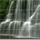 Waterfalls Image Living Murals Tile Room House Construction Idea