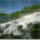 Waterfalls Picture Room Mural Floor Idea Commercial Remodeling