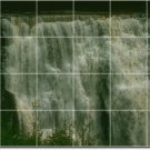 Waterfalls Image Tiles Wall Mural Room Home Decorate Traditional