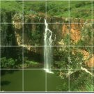 Waterfalls Image Murals Wall Bedroom Tile House Decorating Ideas