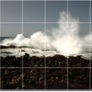 Waves Image Wall Dining Room Wall Mural Construction Ideas House