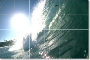 Waves Picture Bedroom Murals Wall Wall Construction Ideas House