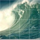 Waves Photo Room Dining Wall Floor Murals Home Modern Remodeling