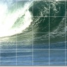 Waves Image Room Mural Dining Tiles Wall Interior Ideas Renovate