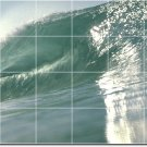 Waves Picture Room Mural Tile Wall Dining Modern Decor Interior