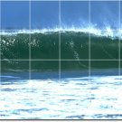 Waves Photo Tiles Mural Dining Room Wall House Idea Construction