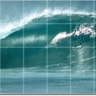 Waves Photo Tiles Mural Room Dining Wall Construction Idea House