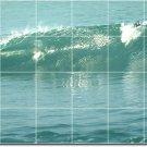 Waves Photo Living Wall Room Mural Tiles House Design Renovation