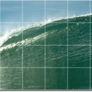 Waves Picture Tile Wall Murals Kitchen Interior Idea Remodeling
