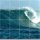 Waves Image Mural Room Tiles Wall Mural Decorate Modern Interior