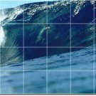 Waves Picture Tile Murals Wall Kitchen Remodeling Idea Interior