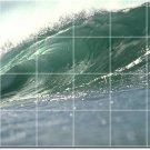 Waves Image Tiles Mural Mural Room Wall Decorating Interior Idea