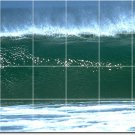 Waves Picture Wall Dining Room Tile Idea Construction Commercial