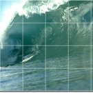 Waves Photo Shower Wall Murals Idea Remodeling Design Commercial