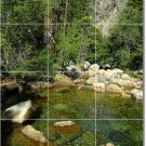 Lakes Rivers Picture Mural Room Tile Interior Ideas Construction