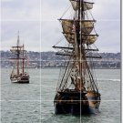 Ships Boats Picture Mural Room Floor Dining Home Modern Design