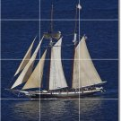 Ships Boats Image Dining Murals Wall Room Tile Remodeling Ideas