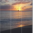 Sunsets Photo Shower Mural Wall Tile Traditional Decorating Home