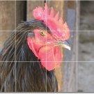 Birds Image Bathroom Murals Shower Tile Modern Interior Decorate