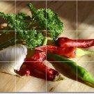 Fruits Vegetables Photo Backsplash Murals House Design Remodeling