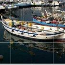 Ships Boats Image Tile Backsplash Kitchen Interior Renovate Decor