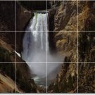 Waterfalls Image Bathroom Mural Tiles Residential Ideas Remodel