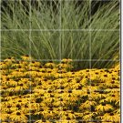 Flowers Photo Room Wall Tiles Mural Living Idea House Renovation