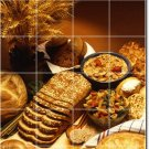 Food Photo Living Room Tile Mural Traditional Construction House