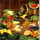Fruits Vegetables Photo Room Murals Living Wall Renovations Ideas