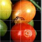 Fruits Vegetables Image Tile Kitchen Idea Residential Renovations