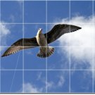 Birds Picture Tiles Shower Mural Bathroom Wall Renovations Ideas