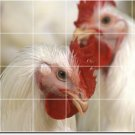 Birds Image Shower Tile Wall Mural Idea House Renovations Design