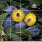 Fruits Vegetables Image Dining Floor Room Tile Residential Decor