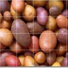 Fruits Vegetables Image Dining Floor Tile Room Decor Residential