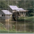 Lakes Rivers Picture Room Mural Dining Tile Modern Renovate Home