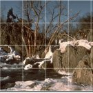 Lakes Rivers Photo Shower Tile Mural Home Decorate Traditional