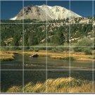 Lakes Rivers Picture Room Tile Mural Dining Renovate Modern Home