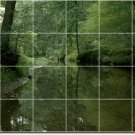 Lakes Rivers Picture Mural Room Wall Tiles Modern House Decorate