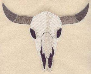 Wild West Steer Skull Towel Set