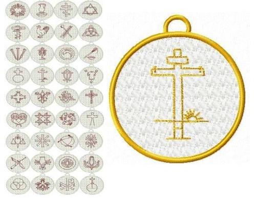 Chrismon Ornaments