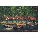Running Horses Mural