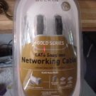 Belkin 7 Ft Gold Series CAT6 Network Cable RJ45 M/M