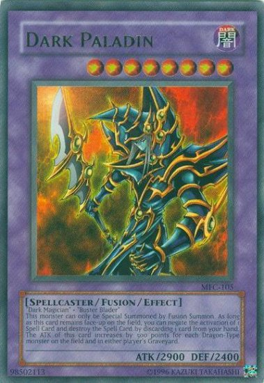 Dark Paladin *Virtual Card for PC game* Extremely Rare