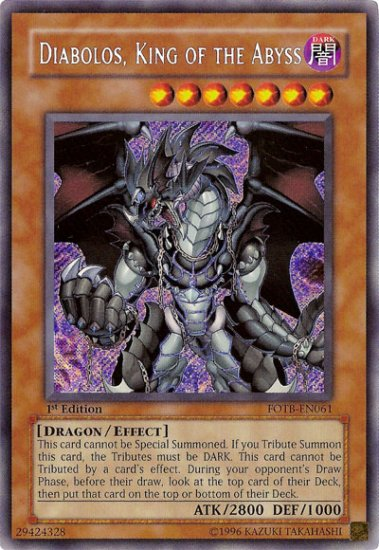 Diabolos, King of the Abyss *Virtual Card for PC game*