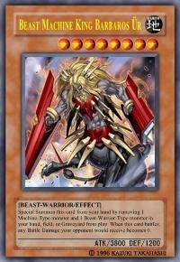 Beast Machine King Barbaros Ur *Virtual Card for PC Game*