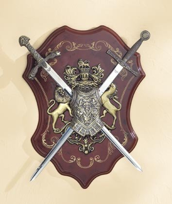 Swords On Display Shield