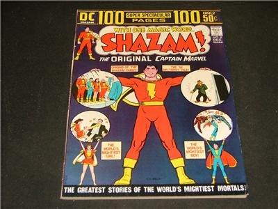 100 Pg Super Spectacular #8 Dec '73 Orig Capt Marvel