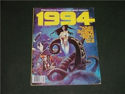 1994 Illustrated Adult Fantasy Magazine Comic April '80